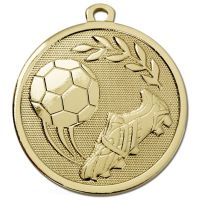 GALAXY Football Boot & Ball  Medal</br>AM1028.01